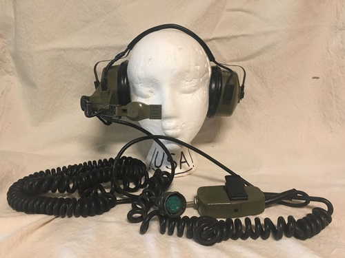 Roanwell Military Headset with Dynamic Microphone 67600-105 MAIN