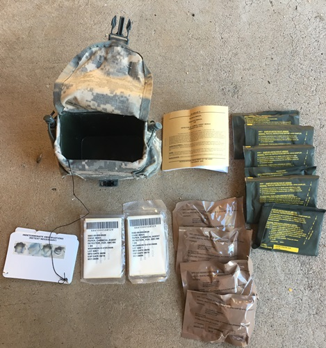 US Army Chemical Agent Detector Kit M256A2