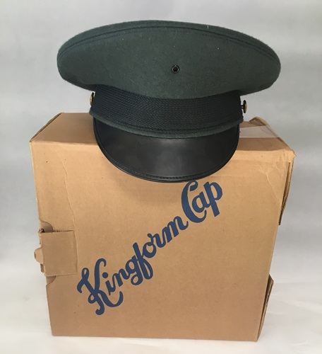 US Army Dress Green Saucer/Bus Driver Hat