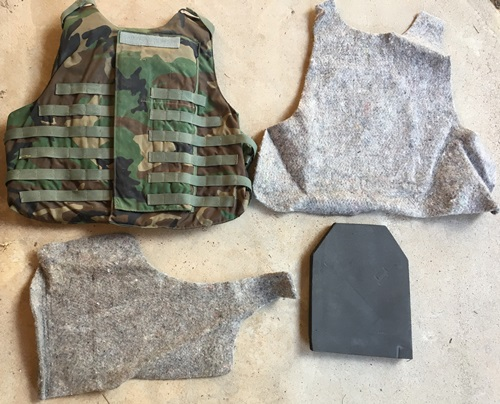 Interceptor OTV IBA BDU Woodland Plate Carriers Includes Custom Padded Inserts NO Kevlar