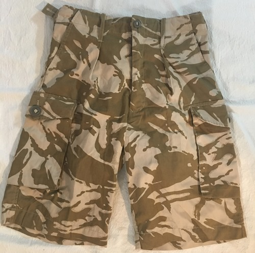 Genuine Issue British DPDM Army Tropical UBACS Combat Shorts_MAIN