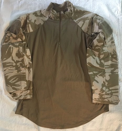 Genuine Issue British DPDM Army Tropical UBACS Under body Armor Combat Shirt_LARGE