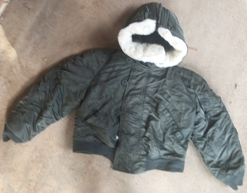 Vintage Issued Alpha N-2B Hooded Pilot's Jacket
