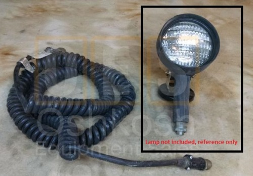 Military Extension/Connector Lampholder for M977 Series HEMTT Military Truck MAIN