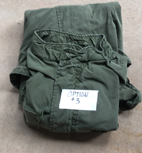 Vintage Vietnam Era USGI M-1965 Fishtail Parka WITH Liner AND HOOD! Med/Reg 1972 Used Very Good