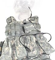 Tactical Command Special Forces Low-Visibility Three-Wire Communication Kit (SFCS)