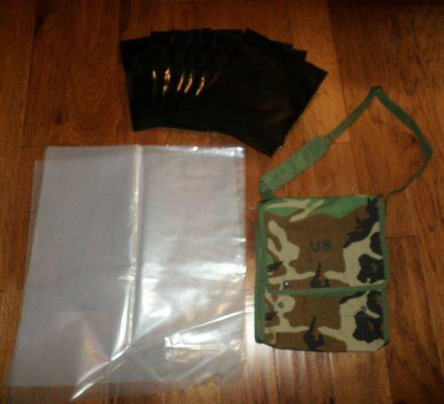 U.S. Army Issue Map & Photo Case with Waterproof Inserts_LARGE