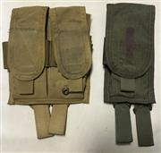Paraclete Double M4/M16 Pouches, lot of 2 pouches, holds 6 mags all together_THUMBNAIL