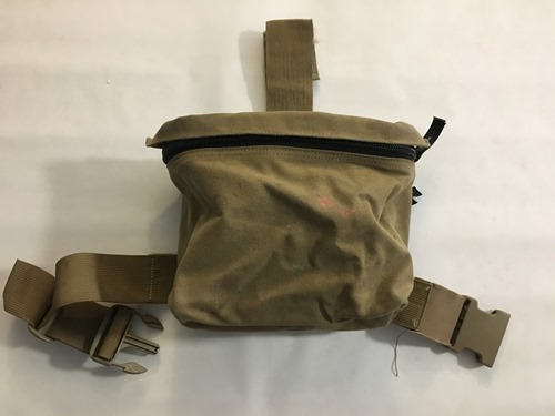 Battlelab Dump Breach Pouch Mounted with IIIA Armor sewn inside back_MAIN