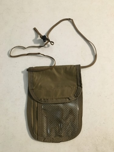 Deluxe Military ID Badge Pouch with lots of pockets LARGE