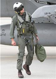 Naval Air Systems MA-2 Adjustable Integrated Parachute Restraint Harness with MBU-12/P Oxygen Mask_THUMBNAIL