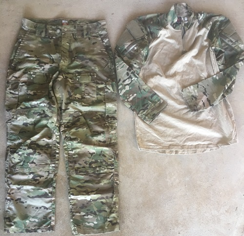 LBX Tactical Assaulter Combat Pants and Combat Shirt Set LARGE