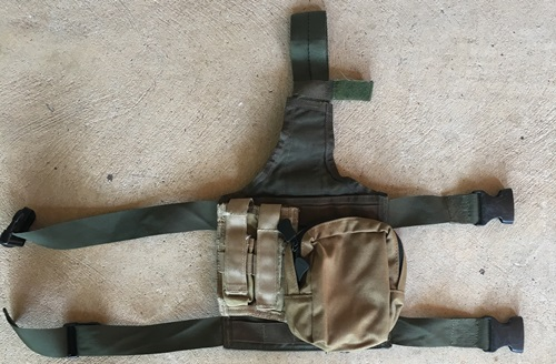 Paraclete Drop Leg Panel w GP and 9mm Pouch MAIN