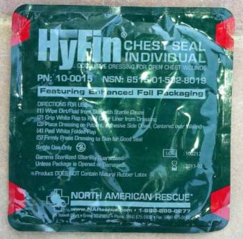 HyFin Chest Seal Individual