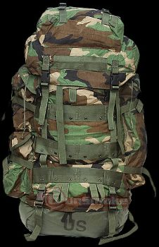 Us Army Surplus >> Molle II ACU Digital Large Ruck Sack & Frame New - Military and Army Surplus