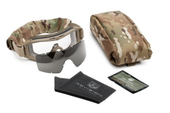 CLOSEOUT! Revision Eye Wear Desert Locust Military Goggle System Multicam LARGE