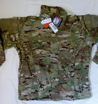 Level 5 Gen III OCP MultiCam Sigma Nomex Kevlar Fire Resistant Soft Shell Cold Weather Gear_LARGE