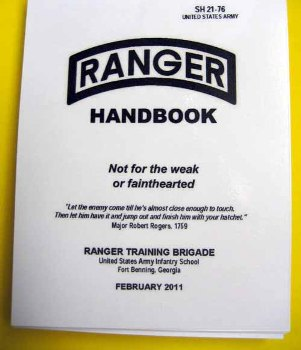 SH 21-76 Ranger Handbook US Military Issue