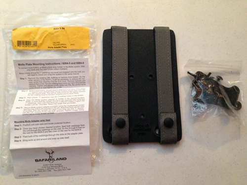 Safariland Molle Adapter Plate LARGE