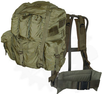USGI Large ALICE Field Pack w Frame and all straps LARGE