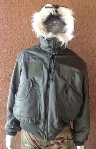 USGI Issue Nomex ARTIC CWU 45/P OD Flight Jacket Extra-Large