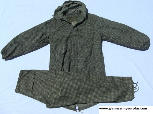 Desert Night Camo Hooded Fishtail LARGE
