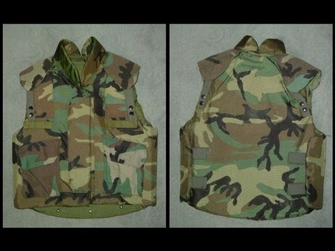 Pasgt Woodland Camouflage Flak Jacket Glenn S Army