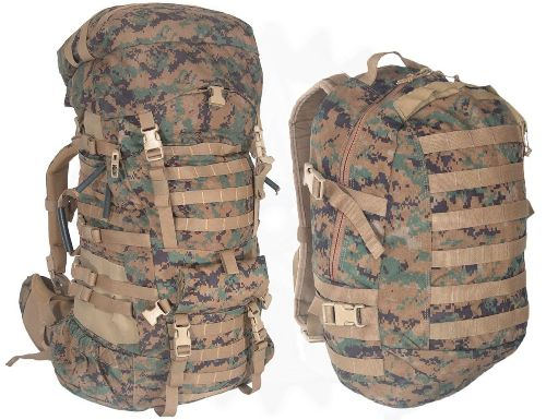 USMC Marpat Digital ILBE Arcteryx Ruck Pack & Assault Backpack Set