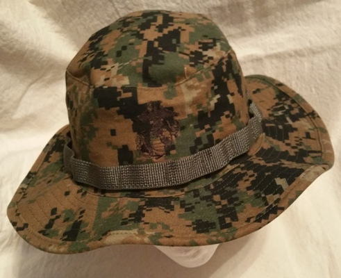 USMC Sekri MCCUU Woodland Digital Boonie Hat MAIN