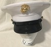 USMC Dress Blue Marines Enlisted Service Cap Mini-Thumbnail