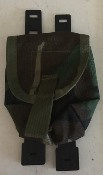 Tactical Tailor Small Utility Pouch BDU Woodland Camo SWATCH