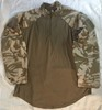 Genuine Issue British DPDM Army Tropical UBACS Under body Armor Combat Shirt_SWATCH