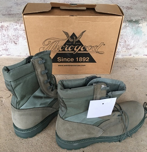 AirForce Sage Gore-tex Uniform Boots by Thorogood SWATCH
