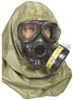 USGI Universal Series Military Gas Mask Hood THUMBNAIL