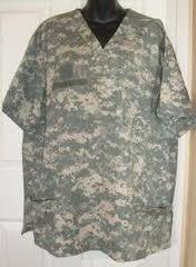 Nurse Joe ACU Uniform Scrub Tops & Bottoms