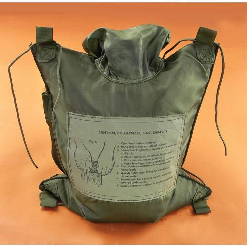 Canteen Cover 5 Quart Collapsible Floating Bladder THUMBNAIL
