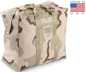 USAF DCU Desert-Tri-Color Flyer's Kit Bag THUMBNAIL