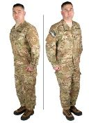 USGI OCP/Scorpion W2 Garrison Uniform Perimeter Insect Guard