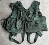 CMU-33/P22P-18 Survival Vest w Harness & pouches