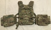 KDH Magnum TAC1 MultiCam Light Weight Ballistic Plate Carrier with Kevlar