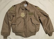 USGI ISSUE Nomex CWU 45/P TAN Desert  Flight Jacket Medium_THUMBNAIL