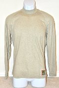 USMC Silk Weight FROG ECWCS Level 1 Base Layer Long Sleeve Crew T Shirt THUMBNAIL