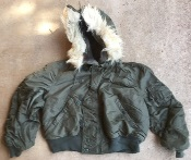 Issued Alpha N-2B Hooded Pilot's Jacket_THUMBNAIL
