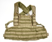 Eagle Industries Rhodesian Recon Vest SFLCS Khaki THUMBNAIL