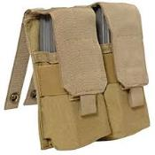 Eagle Industries AK/M4 Double  Mag Pouch Holds 4