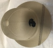 ISSUE USMC Hawley Products Sun (Pith) Helmets Collectible_THUMBNAIL