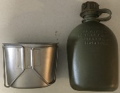 USGI ISSUE Canteen Cup and/or 1 Qrt Canteen