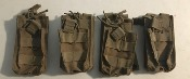 Lot of FOUR Condor Single Stacker M4 Mag Pouch