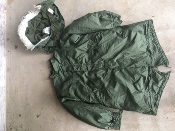 Vintage USGI M-1965 Fishtail Parka WITH Liner AND HOOD! Small 1972 Near New