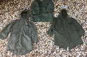 Genuine Issue M1951 Fishtail Parkas complete w Frieze Liner AND Wolf Fur Hood
